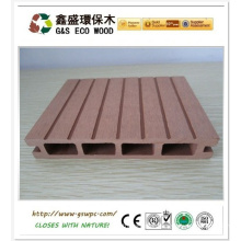 High quality anti-warping wood plastic composite/wpc decking, cheap decking/China